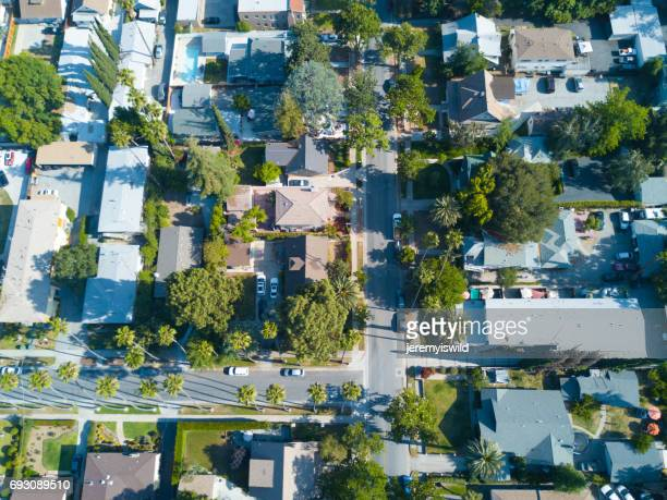 residential neighborhood - torrance stock pictures, royalty-free photos & images