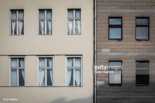 Residential properties are pictured on August 08, 2018 in Berlin, Germany.