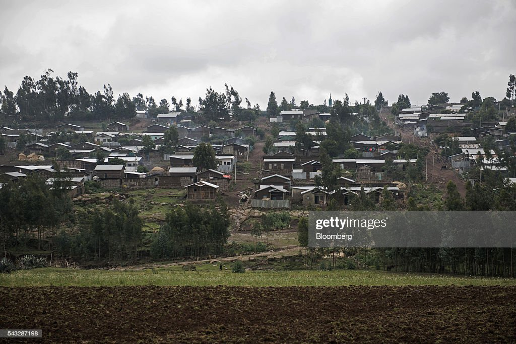 General Economy In Addis Ababa : News Photo