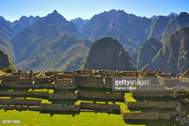 "residential sector in machu picchu - ""markus daniel"" stock pictures, royalty-free photos & images"