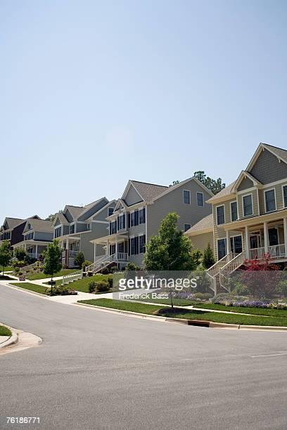 A residential street