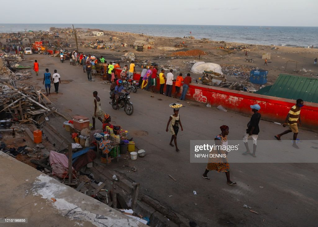 GHANA-ECONOMY-CONSTRUCTION : News Photo