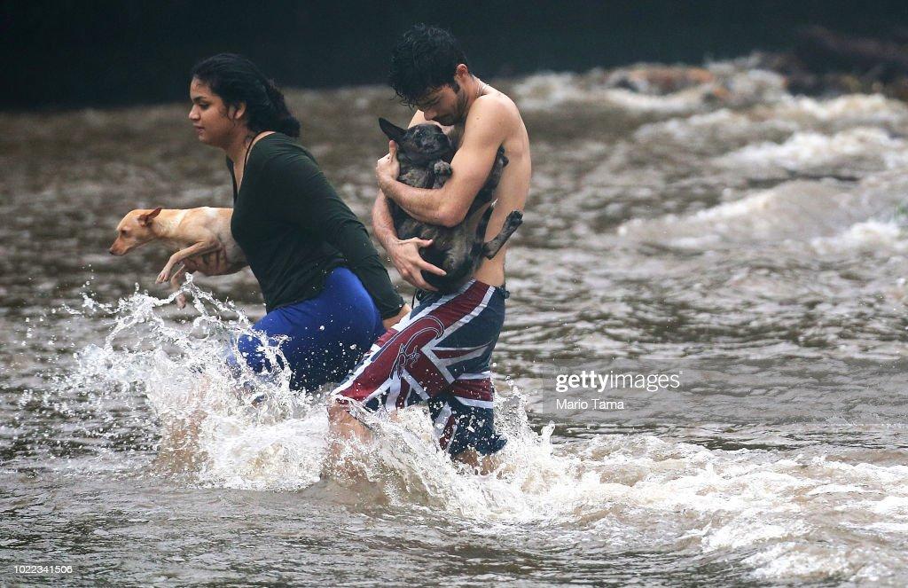 Residents Of Hawaii Prepare For Hurricane Lane : News Photo