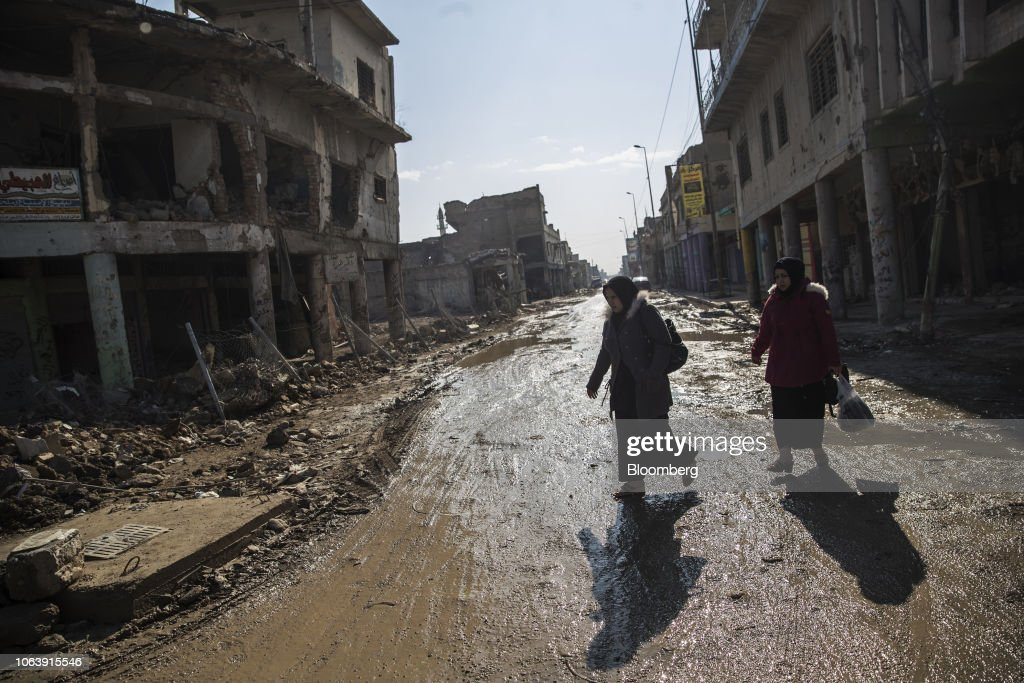 Views Of Mosul Two Years After Liberation From ISIS : News Photo
