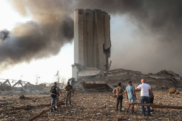 LBN: Large Explosion In Lebanon's Capital