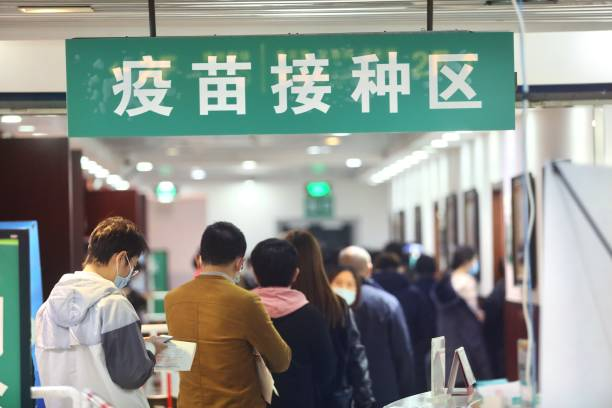 CHN: Residents Receive Booster Dose Of COVID-19 Vaccine In Beijing