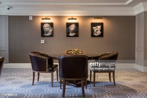 Residents Lounge in Unit 306 at The Signet on May 28 2019 in McLean Virginia
