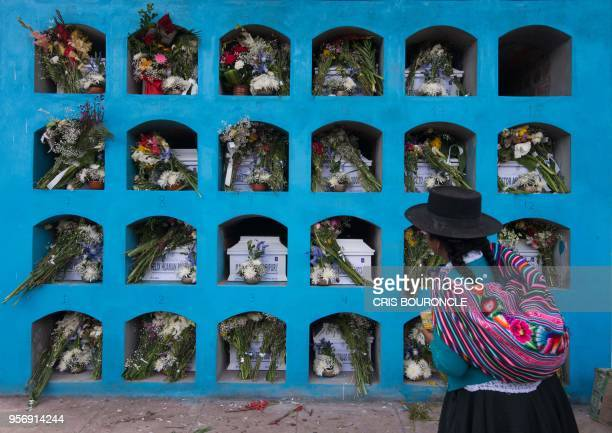 Residents mostly peasants of Culluchaca a small rural community of 700 families living at 3800 meters above sea level in the Andes participate in the...