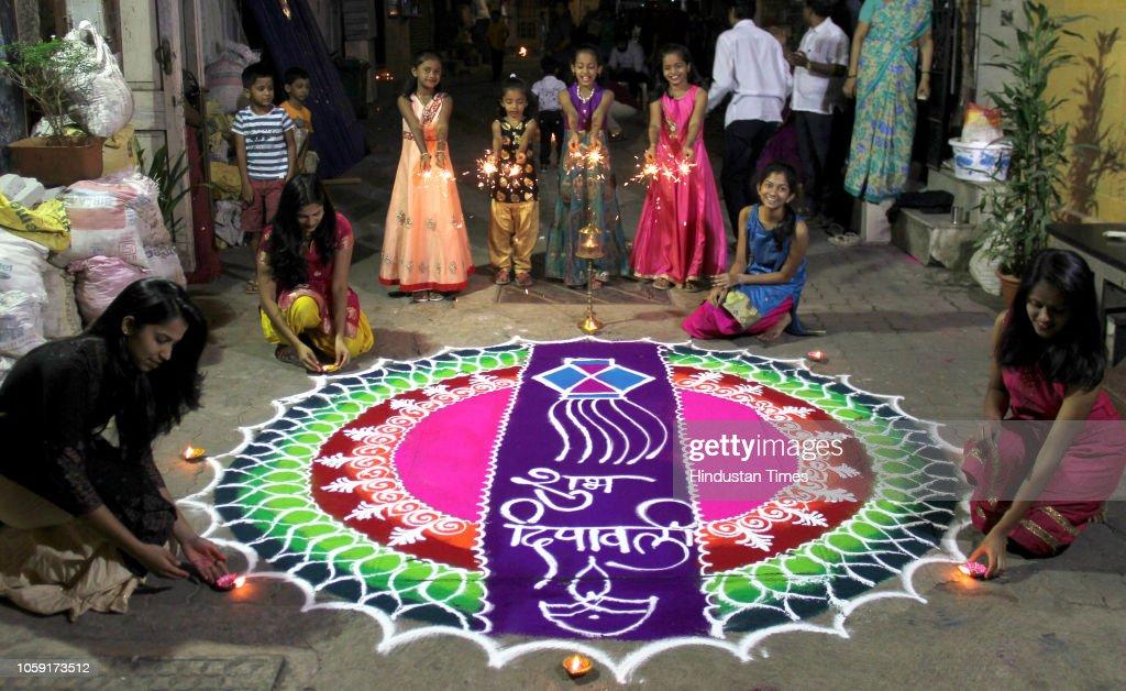 India Celebrates Diwali Festival : News Photo