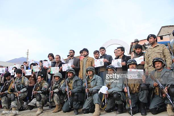 Residents of Badakhshan, Afghanistan, on 13 December 2016, have gained sheets that is written in pension language it, donate blood, donate life to...