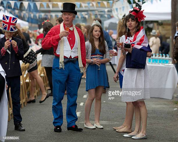 Residents of Battersea in south London hold a street party on June 2 as Britain celebrates Queen Elizabeth II's Diamond Jubilee Britain was Saturday...