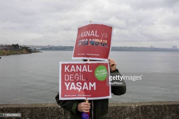 Residents of Istanbul gathered on January 12 to protest the Canal Istanbul project which, despite the objections from scientists and experts,...