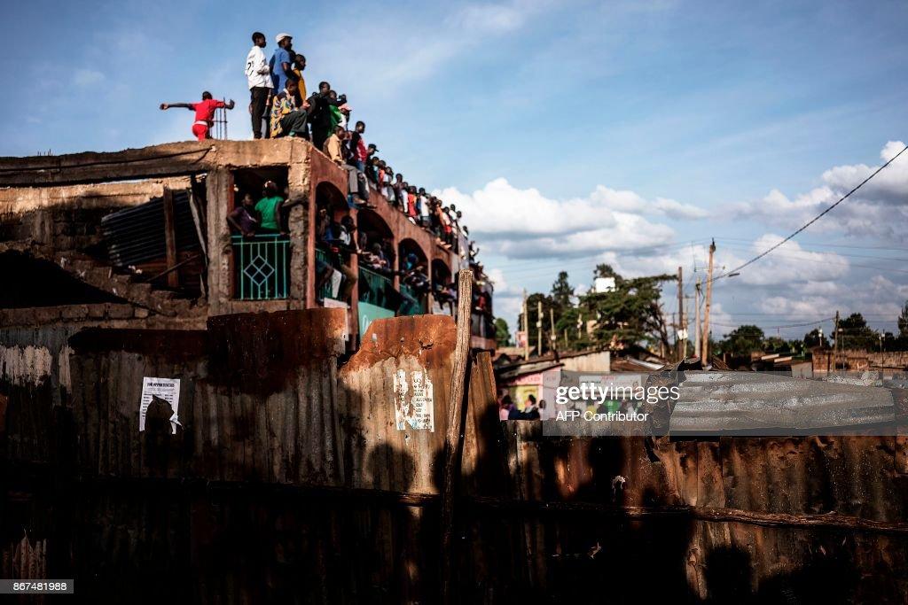 KENYA-VOTE-POLITICS : News Photo
