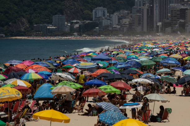 BRA: A General view of Rio de Janeiro During the Municipal Elections Runoff Amidst the Coronavirus (COVID - 19) Pandemic