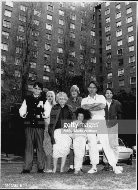 Residents of Surry Hills Housing Commission units and of the Northcott Community centre Garry Percell Annette McDonald Muriel Tippett Laurie Marshall...
