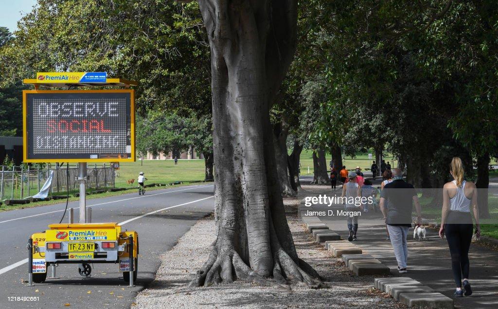 Australians Mark Easter Long Weekend In Coronavirus Lockdown : News Photo