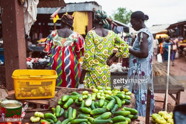 residents of tanghin district. ouagadougou-burkina faso - ワガドゥグ ストックフォトと画像