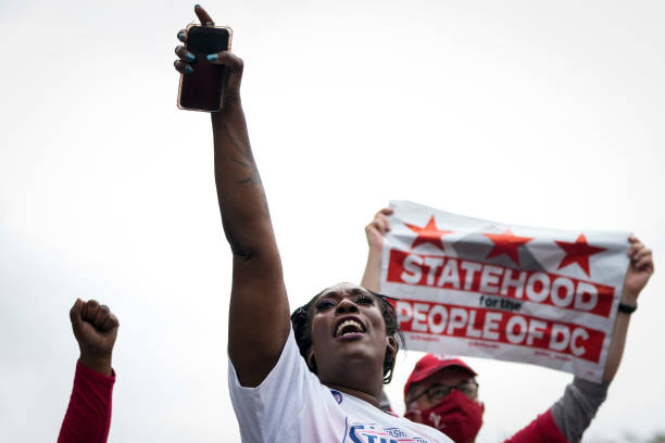 DC: Activists Rally For DC Statehood