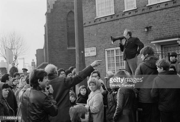 Residents of the Isle of Dogs declare independence from the UK London 1st March 1970