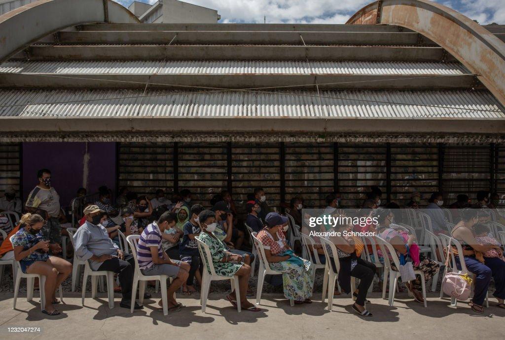 Coronavirus Crisis Pushes Vulnerable Brazilians To Hunger : News Photo