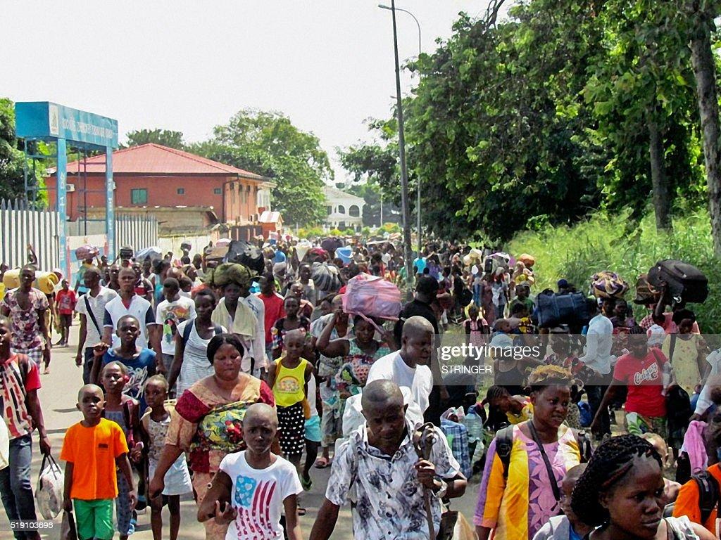 CONGO-POLITICS-UNREST-UNREST : News Photo
