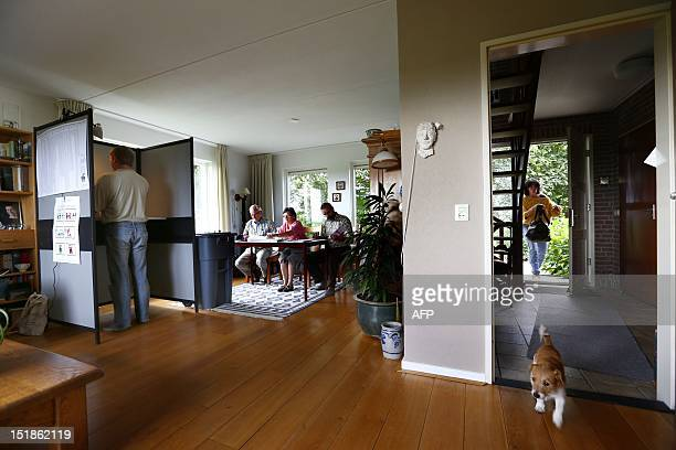 A Family In A Living Room. Stock Photos and Pictures | Getty Images
