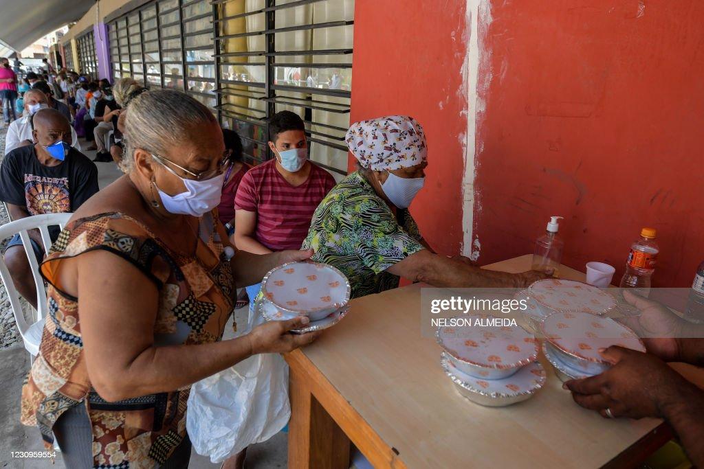 BRAZIL-HEALTH-VIRUS-ECONOMY-POVERTY : News Photo