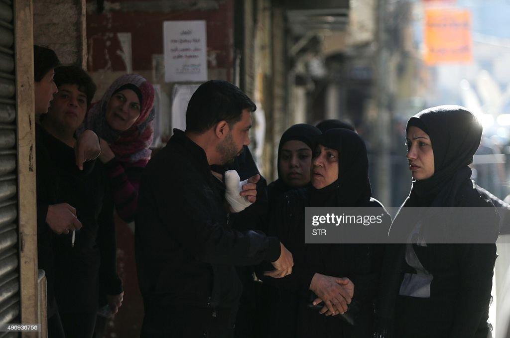 LEBANON-UNREST-BLAST-HEZBOLLAH-AFTERMATH : News Photo