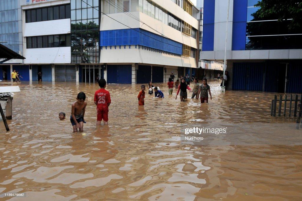 Jakarta Floods : Foto di attualità