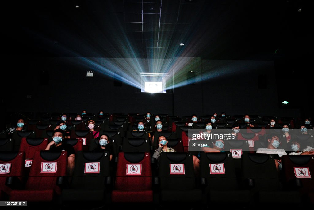 Wuhan Reopens Cinemas After Months In Lockdown : News Photo