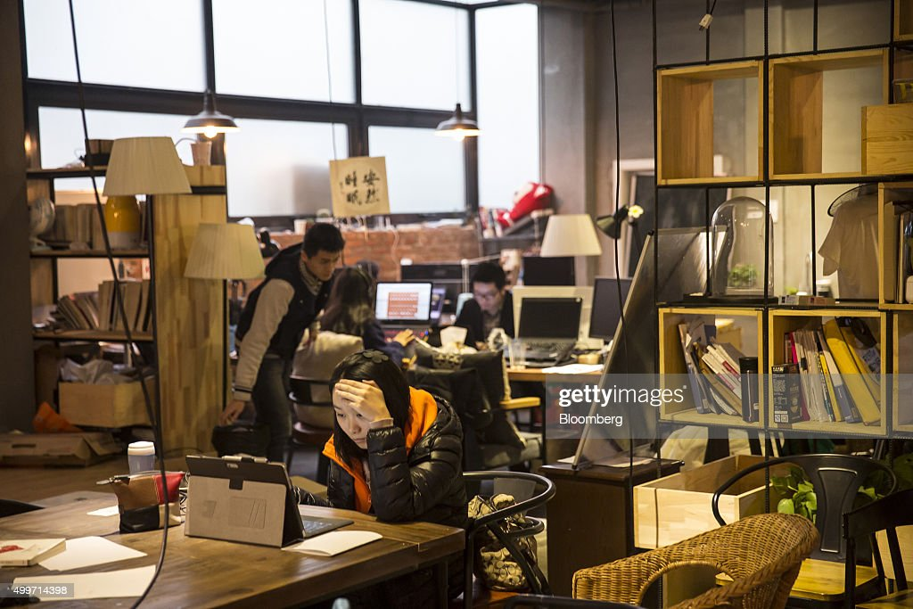 Inside the You+ Co-Living Community As China's Sharing Economy Takes Page From Mao's Little Red Book : News Photo