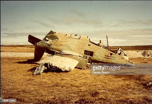 CONTENT] Residue of war at Stanley Airfield October 1983 FMA Pucara