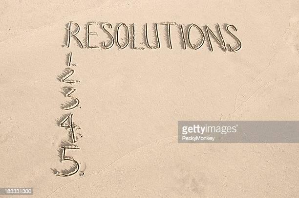 Resoluciones de mensaje en la arena con Numbers