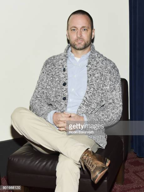 Resonate Entertainment cofounder Brent Emery poses for portrait at the Women in Entertainment Workshop Series at ArcLight Cinemas on March 14 2018 in...