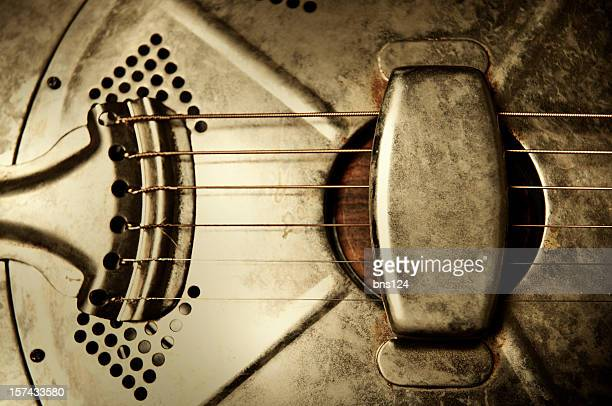 resonator guitar - blues music stock pictures, royalty-free photos & images