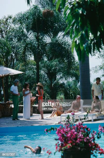A resort at Cuernavaca in Mexico April 1980