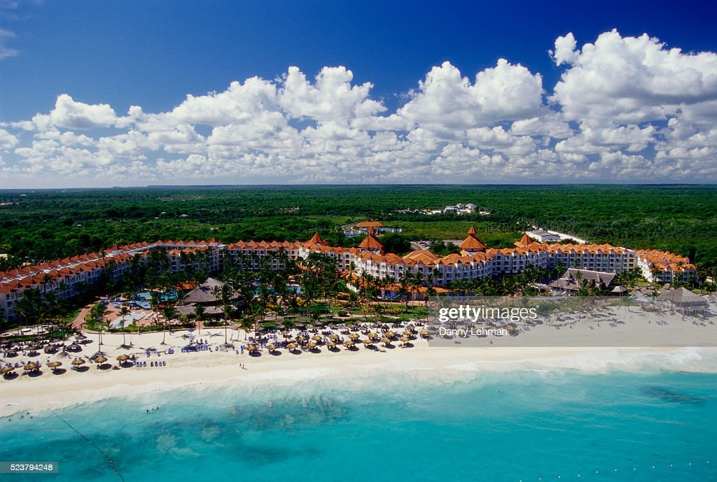 resort on bavaro beach in punta cana stock photo getty images