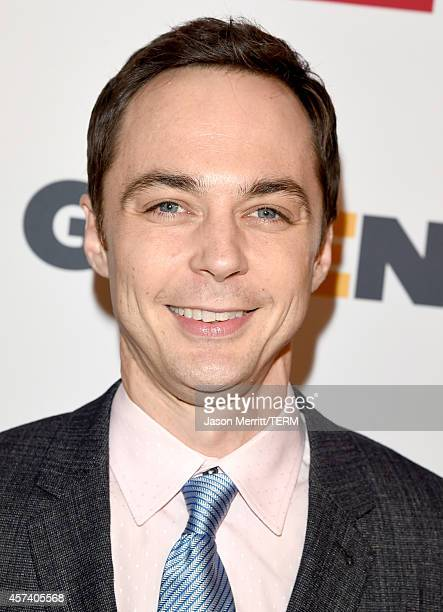 Respect Honorary CoChair Jim Parsons attends the 10th annual GLSEN Respect Awards at the Regent Beverly Wilshire Hotel on October 17 2014 in Beverly...