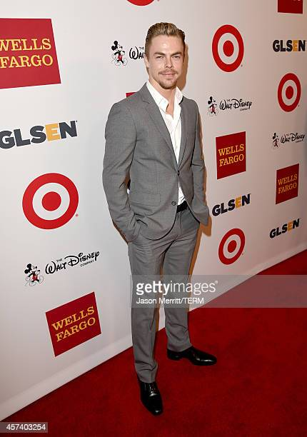 Respect Inspiration Award recipient Derek Hough attends the 10th annual GLSEN Respect Awards at the Regent Beverly Wilshire Hotel on October 17 2014...