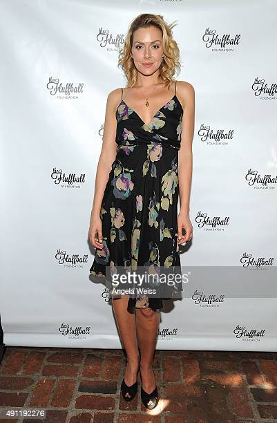 ress Allison McAtee attends The Fluffball 2015 at The Little Door on October 3 2015 in Los Angeles California
