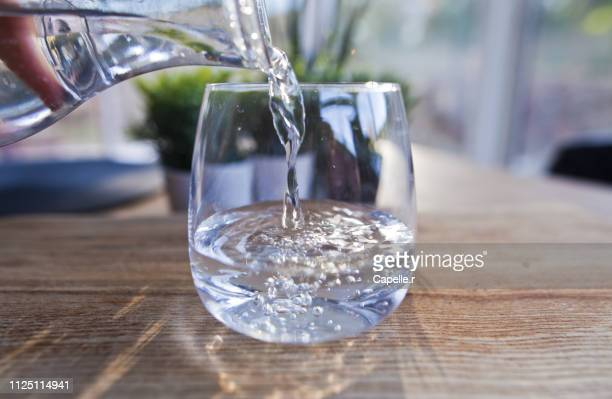 ressource - verre d'eau - drinking glass stock pictures, royalty-free photos & images