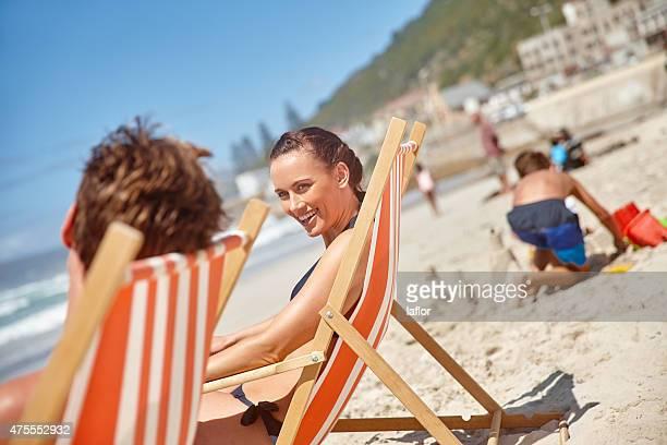 Erholung und Entspannung in der Sonne