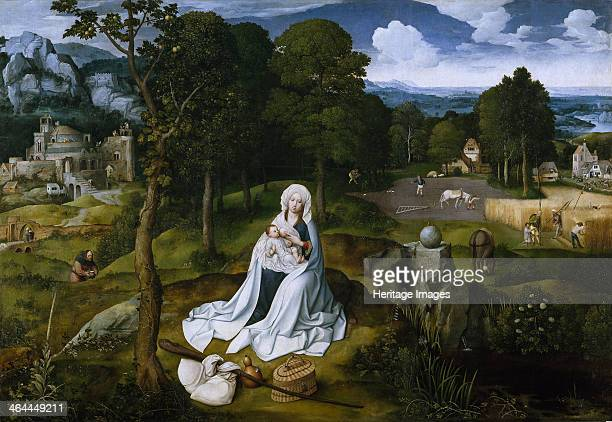 Rest on the Flight into Egypt 15181520 Found in the collection of the Museo del Prado Madrid