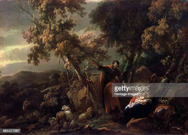 'Rest on the Flight into Egypt' 17th century Found in the collection of the State A Pushkin Museum of Fine Arts Moscow