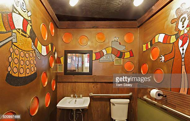 tardis rest room - television show stock pictures, royalty-free photos & images