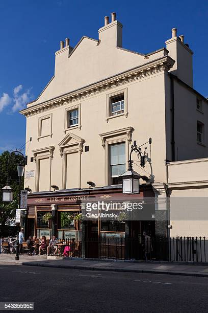 Restaraunt on Portobello Road, Notting Hill, London, England.