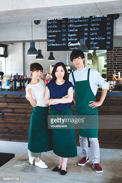 Restaurant Bartenders with Manager