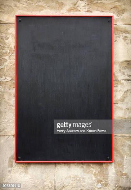 restaurant blackboard - blackboard stock photos and pictures