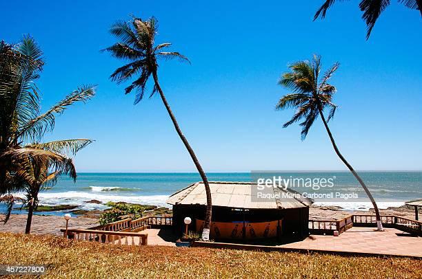 Restaurant by the ocean