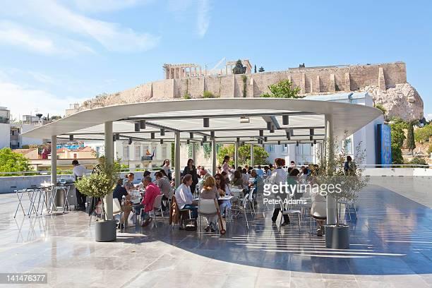 Restaurant & Cafe, New Acropolis Museum, Athens